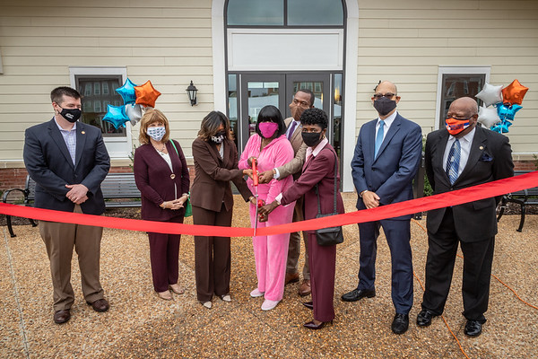 The Community Builders Armstrong Renaissance Ribbon Cutting