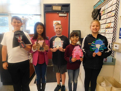 5th-Graders Disguise Turkeys at Paradise Canyon