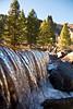 Falls on Cross Creek outside of Minturn, CO