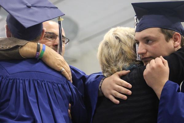 2016 Clinton Christian School graduation
