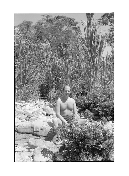 1983 Mexico Pelenque.MJ at swimming hole 2.jpg
