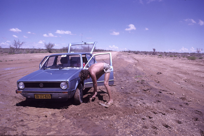 """Namib Desert, Namibia 1995, ©RobAng """".. und was jetzt??"""""""