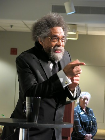 Dr. Cornel West at the Sacramento Central Library 12 26 19