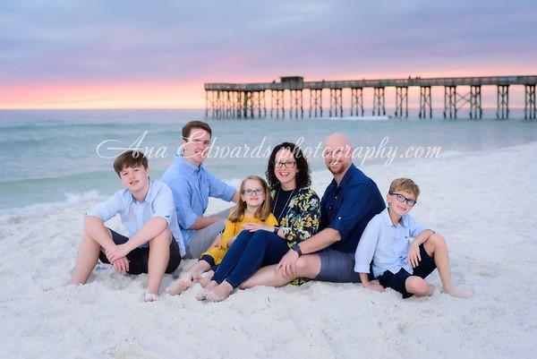 The Howe family  |  Panama City Beach