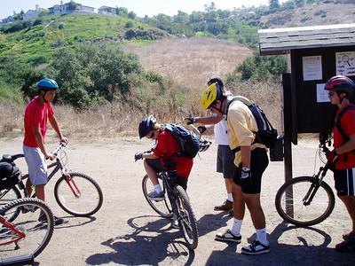 9/10/2006 - Mountain Biking @ Larguna Woods