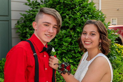 Ellie 8th grade dance May 2018