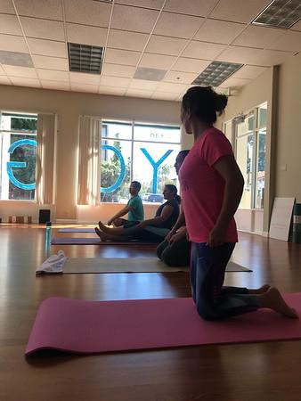 International language yoga
