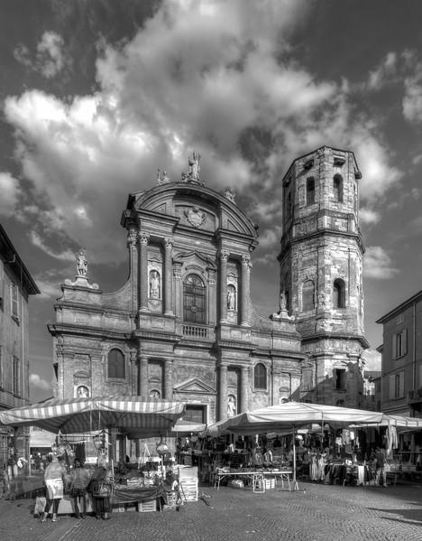 San Prospero Square - Reggio Emilia, Italy - May 14, 2011
