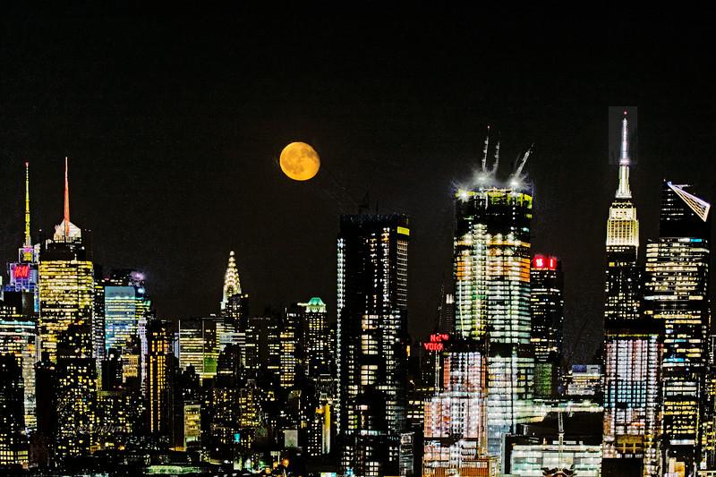 NYC Waning Sturgeon Moon