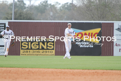 Clear Creek Varsity Baseball vs Morton Ranch 3/3/2011