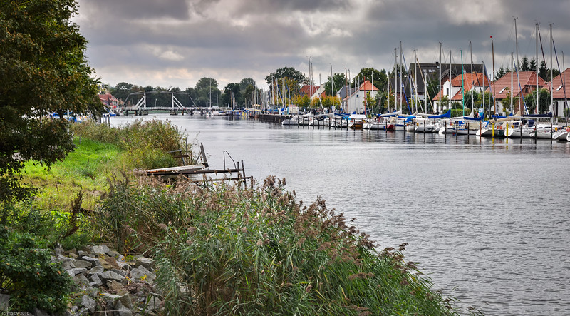 Wiecker Yachthafen / marina of Wieck