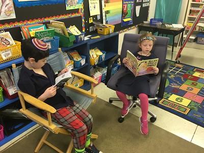 Wacky Wednesday and Read Across America!