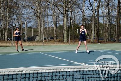 Girls' Tennis vs Falmouth 🎾 2018