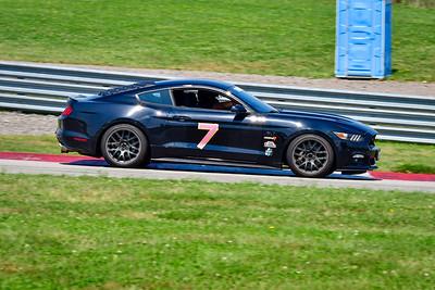 2021 SCCA Pitt Race Aug TT 7 Mustang