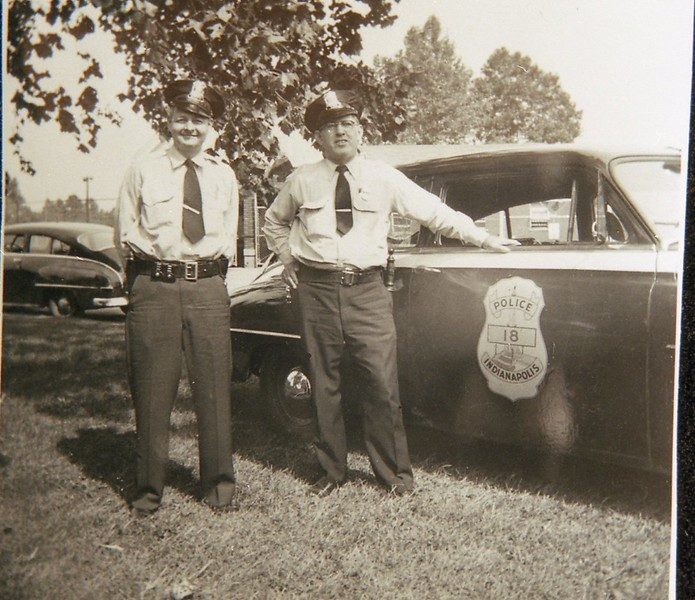 Officers Chowning and John P Kestler, 1952