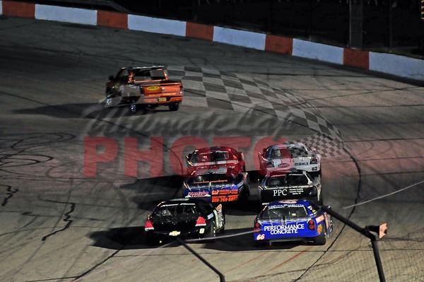 LaCrosse Late Model 6 for 6 race, September 4th, 2010
