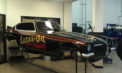 Morgan Lucas Racing Shop Tour - Brownsburg, IN - 6 Dec. '12