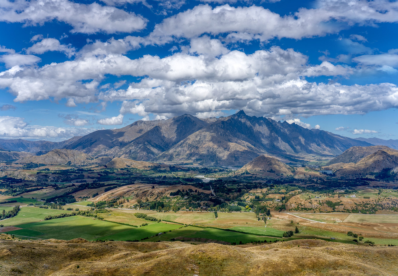 New Zealand South Island View