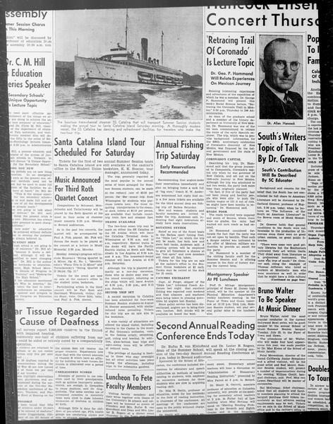 Daily Trojan, Vol. 33, No. 6, June 14, 1941