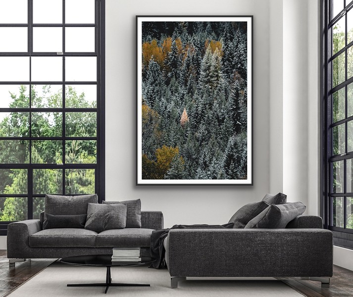 'One' Fine Art Framed Print Framed/Unframed
