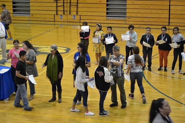 6th Grade 1st quarter Awards
