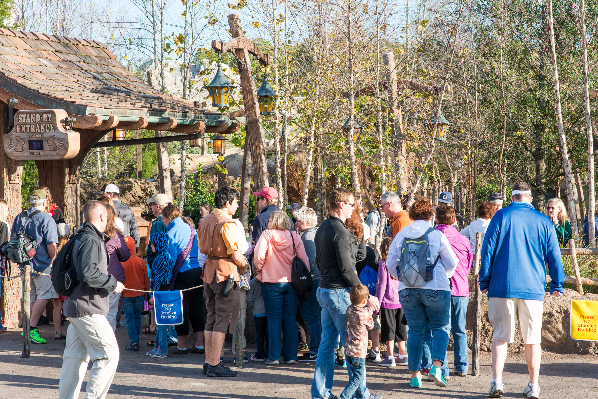 Mine Car Line - Walt Disney World Magic Kingdom