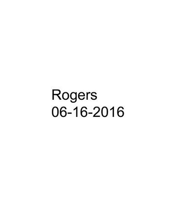 Rogers 06-16-16