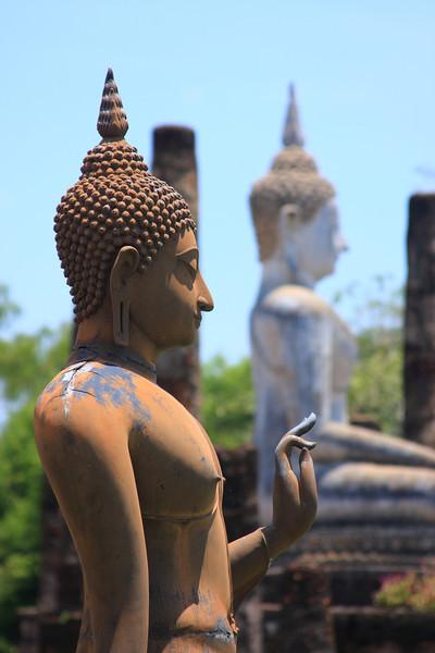 Buddha hand getsture symbolizes teaching