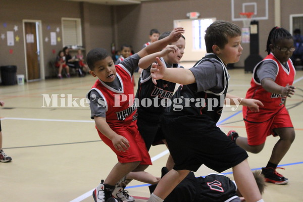 Upward Basketball Week 5 8:30 Game