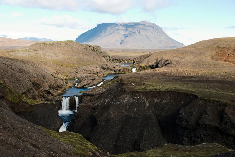 Brúará og Hlöðufell