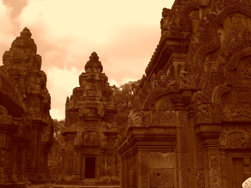 Temples of Banteay Srei - Angkor, Cambodia