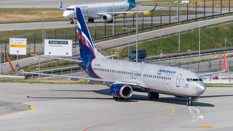 Aeroflot / Boeing 737-8LJ(WL) / VQ-BWB