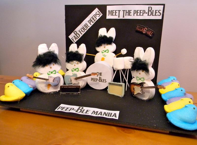 . Chick go crazy over Peep-ables! (Barbara Costley-Adams)
