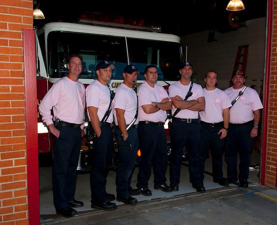 Carpentersville FD wears PINK, well! Oct. 7, 2010