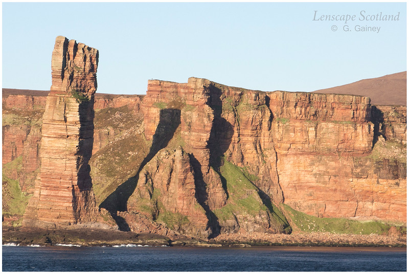 Old Man of Hoy, from the sea (1)