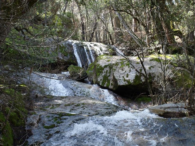 Bass Lake waterfall 4