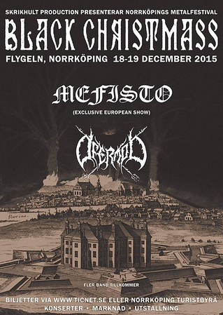 DESTRUCTION – Black Christmass 18/12 2015