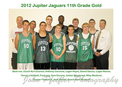2012 JTAA Boys 11th Grade Gold