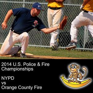 NYPD VS Orange County Fire