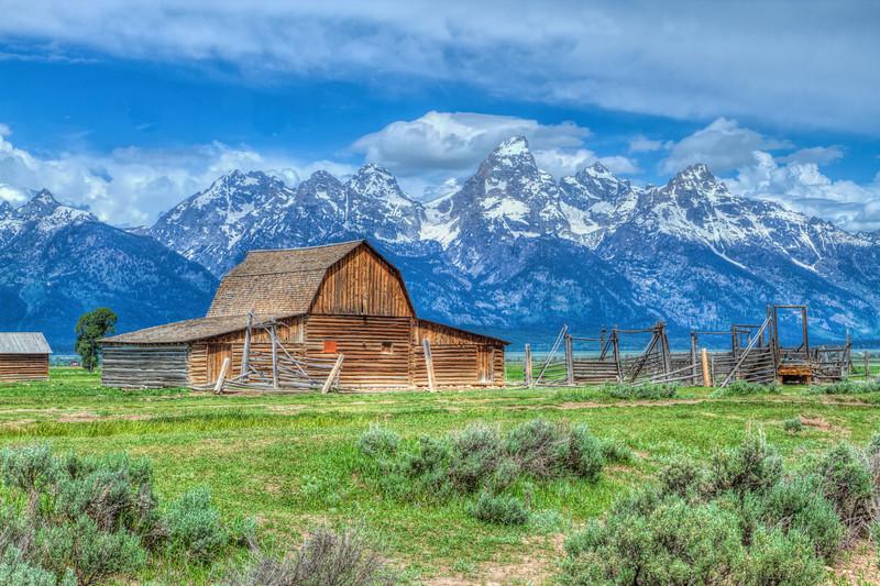 Mormon Barn Grand Tetons