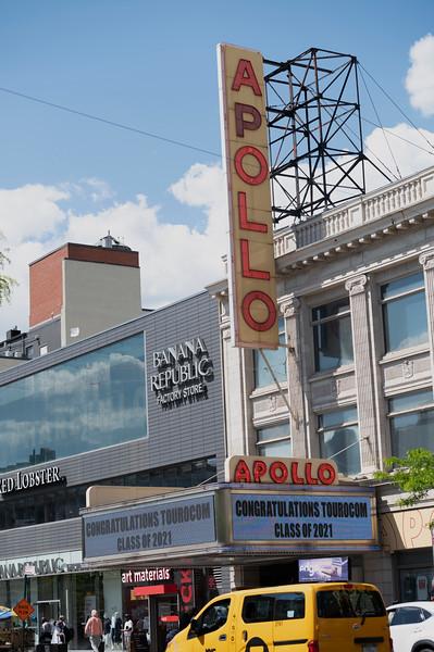 2021 Apollo Theater Marquee - Stills