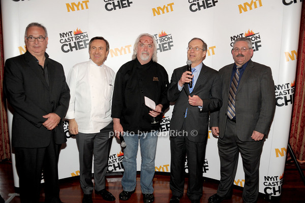Robert Rizzuto, Daniel Boulud, Tom Schauderl, Leonard Aubrey, Bill Marchand photo by Rob Rich/SocietyAllure.com © 2014 robwayne1@aol.com 516-676-3939
