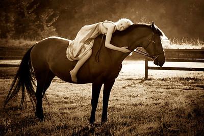 Mikaela & her Horses