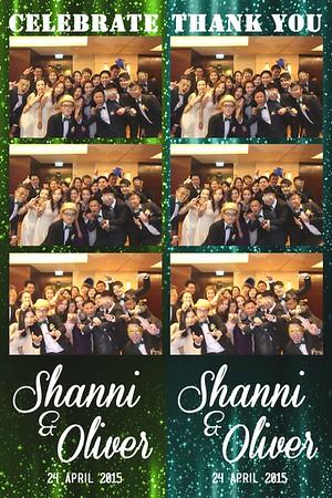 Shanni & Oliver Wedding 2015
