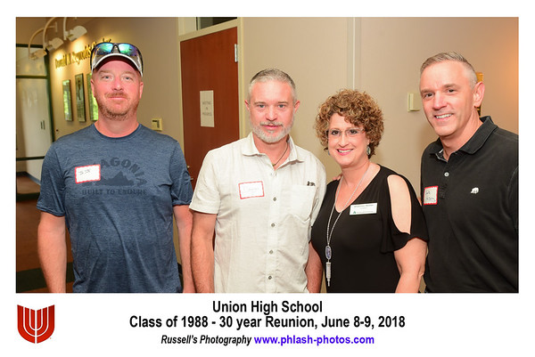 Union Class of 1988 Party Pics