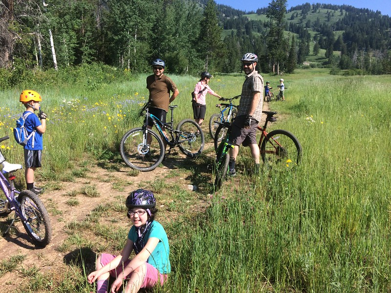 mtn biking in Jackson Hole