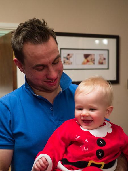Arthur with Daddy