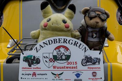 Zandbergrun 2015 - Inschrijven en vertrek