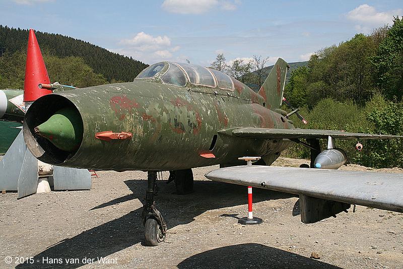 MiG 21 twoseater.