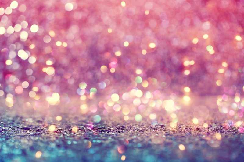 Beautiful abstract shiny light and glitter